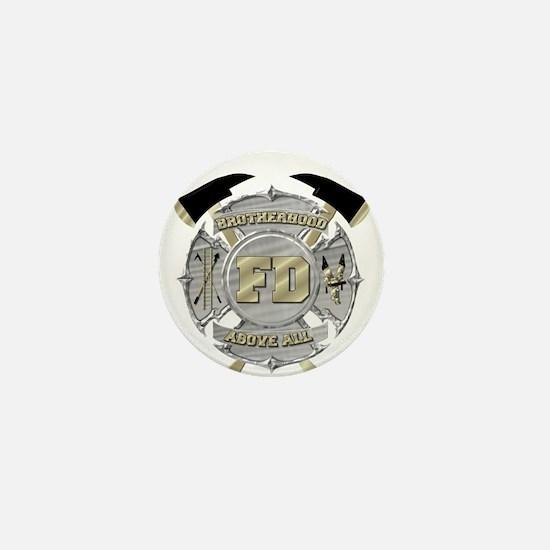 BrotherHood fire service 1 Mini Button