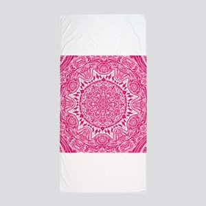 Mehndi Beach Towel