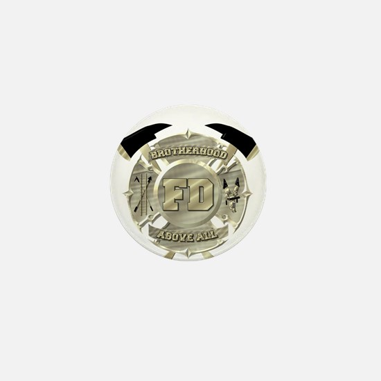 BrotherHood fire service 2 Mini Button