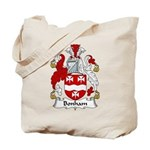 Bonham Family Crest Tote Bag