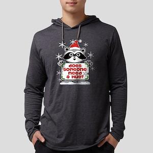 NEED A HUG RACCOON best Long Sleeve T-Shirt