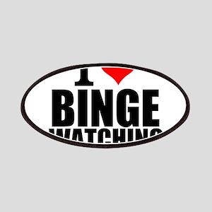 I Love Binge Watching Patch