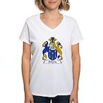 Boland Family Crest Women's V-Neck T-Shirt
