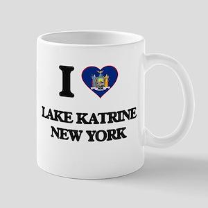 I love Lake Katrine New York Mugs