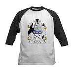 Bodley Family Crest Kids Baseball Jersey