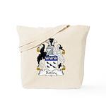 Bodley Family Crest Tote Bag
