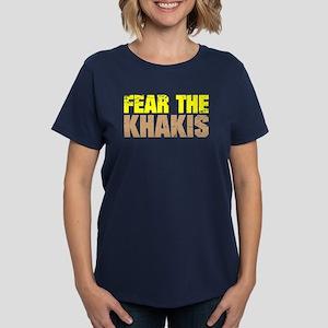 Fear The Khakis Women's Dark T-Shirt