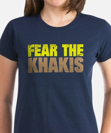 Fear The Khakis Women's Dark T-Shirt