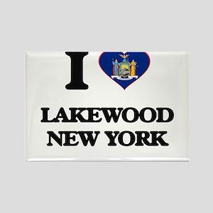 I love Lakewood New York Magnets