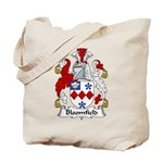 Bloomfield Family Crest Tote Bag