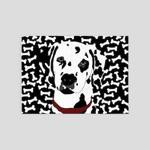 Dalmatian 5'x7'Area Rug