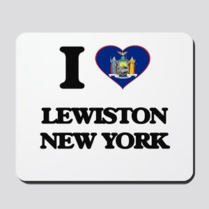 I love Lewiston New York Mousepad