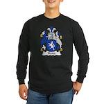 Blaidd Family Crest Long Sleeve Dark T-Shirt