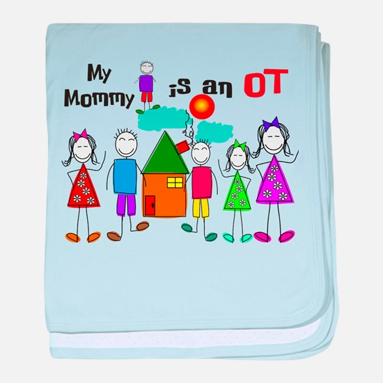 My Mommy Occupational Therapist baby blanket