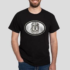 Toy Chinese Shar Pei Dark T-Shirt