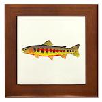Golden Trout Framed Tile