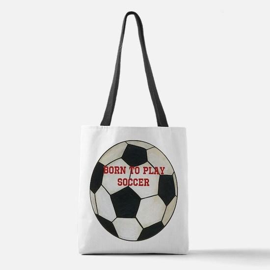 Soccer Polyester Tote Bag