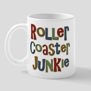 Roller Coaster Junkie Fanatic Mug