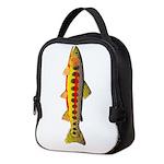 Golden Trout Neoprene Lunch Bag