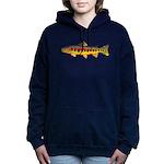 Golden Trout Women's Hooded Sweatshirt