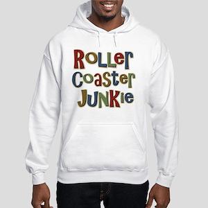 Roller Coaster Junkie Fanatic Hooded Sweatshirt