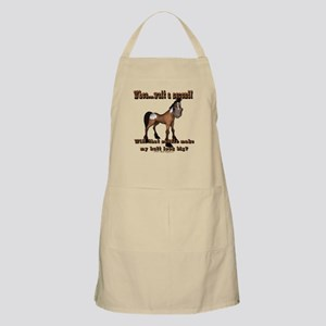Whoa...Wait A Second BBQ Apron
