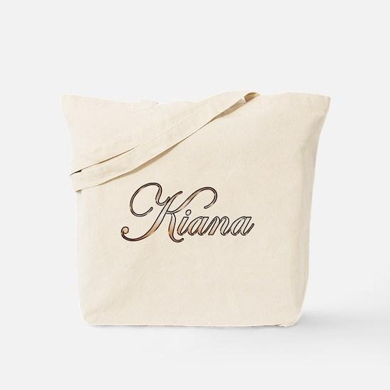 Gold Kiana Tote Bag