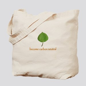 Leaf Re-usable Tote shopping bag for Earth Day