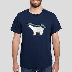 Global Warming Dark T-Shirt. Become Carbon Neutral