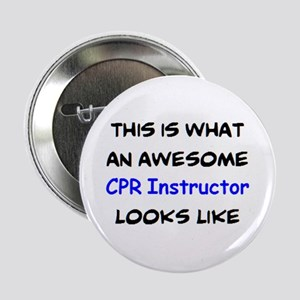 """awesome cpr instructor 2.25"""" Button"""