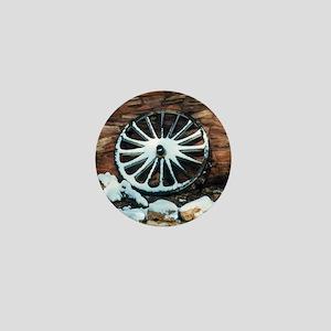 Wagon Wheel Mini Button
