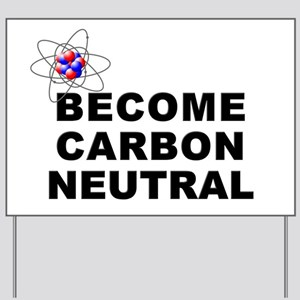 Carbon Neutral Yard Sign