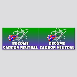 Carbon Neutral Bumper Sticker