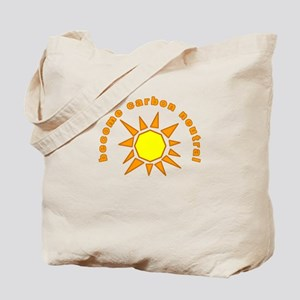 Carbon Neutral reusable grocery Tote Bag