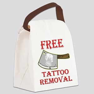 Free Tattoo Removal Cleaver SATIR Canvas Lunch Bag