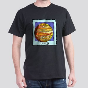Planet Jupiter Dark T-Shirt