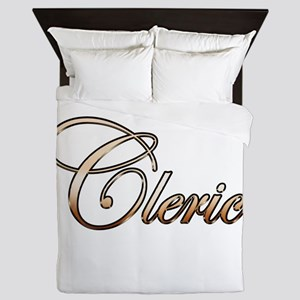 Gold Cleric Queen Duvet