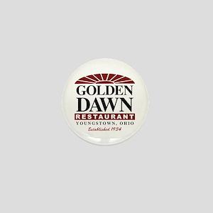 Golden Dawn Mini Button
