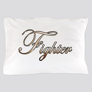 Gold Fighter Pillow Case