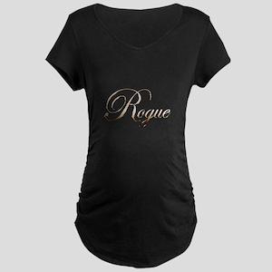 Gold Rogue Maternity T-Shirt