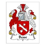 Besse Family Crest Small Poster