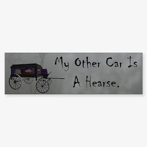 Hearse Bumper Sticker