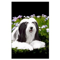 Bearded Collie (Painting) Posters