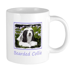 Bearded Collie (Painting) 20 oz Ceramic Mega Mug