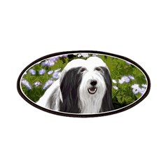 Bearded Collie (Painting) Patch