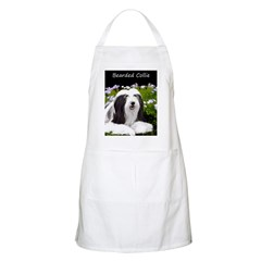 Bearded Collie (Painting) Light Apron