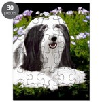 Bearded Collie (Painting) Puzzle