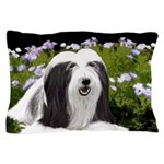 Bearded Collie (Painting) Pillow Case