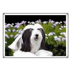 Bearded Collie (Painting) Banner