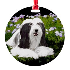Bearded Collie (Painting) Ornament